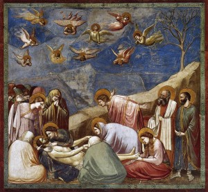 Giotto : La déploration du Christ