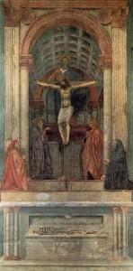 Masaccio - La Trinité (1425-1428)