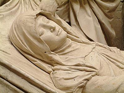 Dormition- Site Abbaye de Solesmes (Sarthe)