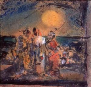 Georges ROUAULT, Christ et disciples (1905)
