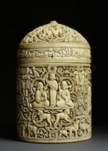 Pixide d'al-Mughîra - Mussée du Louvre, département Arts de l'islam