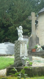La tombe de l'ange
