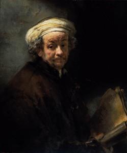 Rembrandt, autoportrait en Paul apôtre -